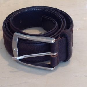 Men's brown leather belt like new
